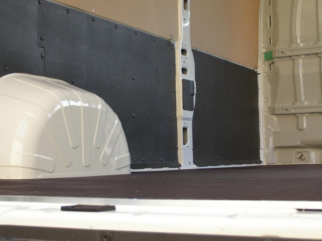Stražnja aluminijska zaštita od udara viličara