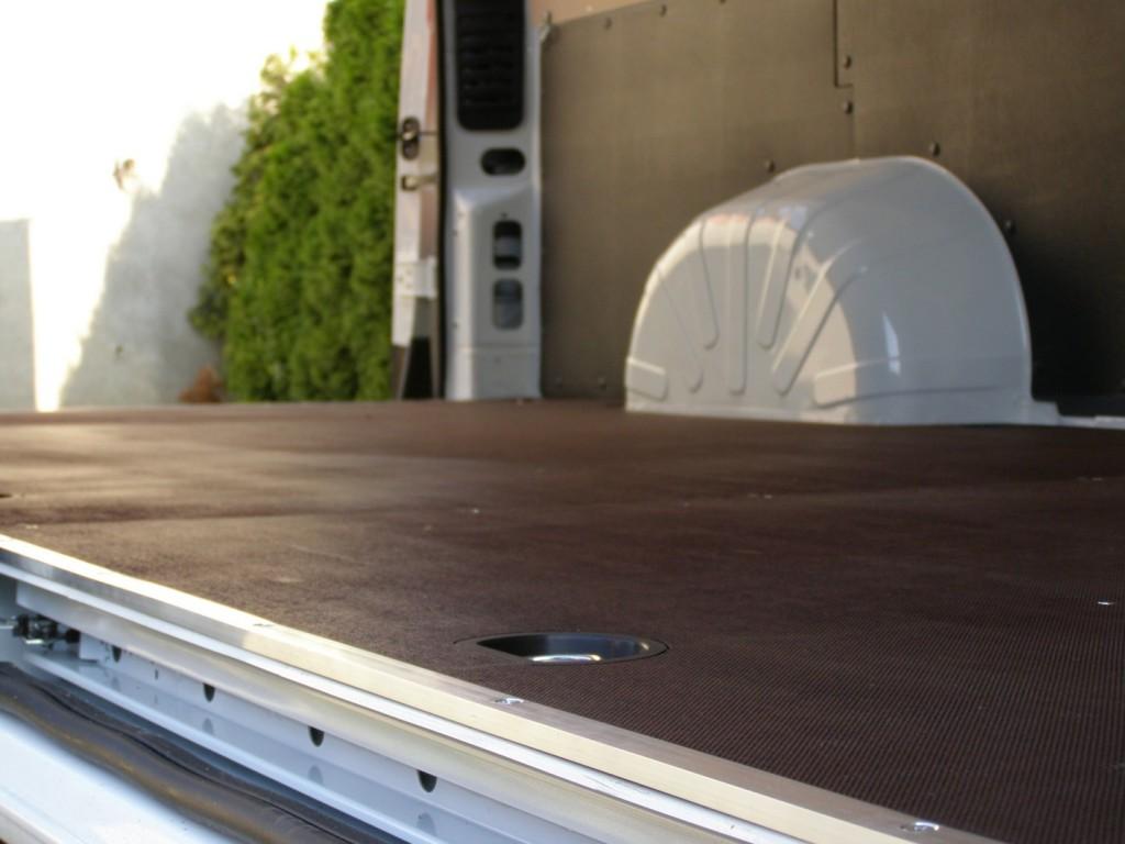 Bočna aluminijska zaštita od udara viličara