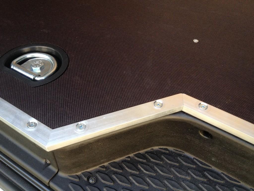 Aluminijska zaštita na bočnim vratima