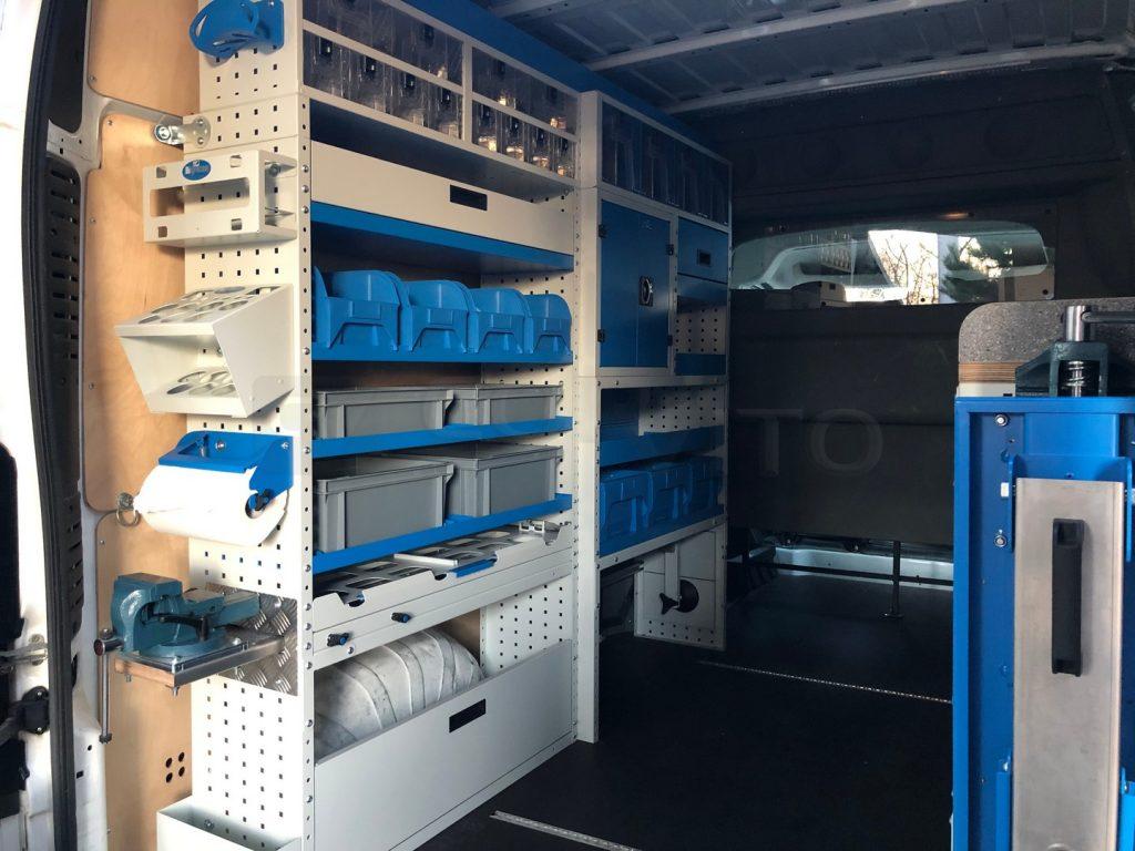 Demo vozilo - kompletna oprema za pokretnu radionicu